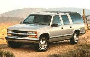 maintenance schedule for 1998 chevrolet suburban openbay