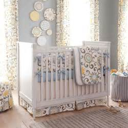 spa pom pon play 3 crib bedding set carousel designs