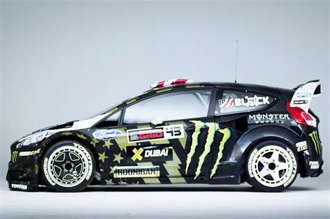 ford block ken block s ford st rx43 teased ahead of gymkhana 8