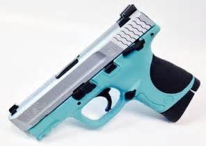 colored pistols for sale blue s w m p compact 40 caliber guns