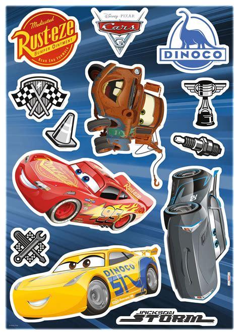 Wandtattoos Kinderzimmer Disney Cars disney cars wandtattoo kinderzimmer cars 3 komar deco