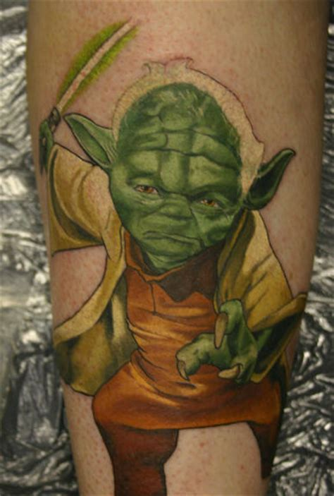 yoda tattoos design db yoda design