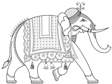 india elephant coloring page free coloring pages of elephant trunk up