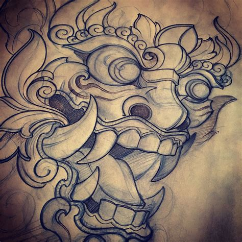japanese oni tattoo asian inspirations asian themes