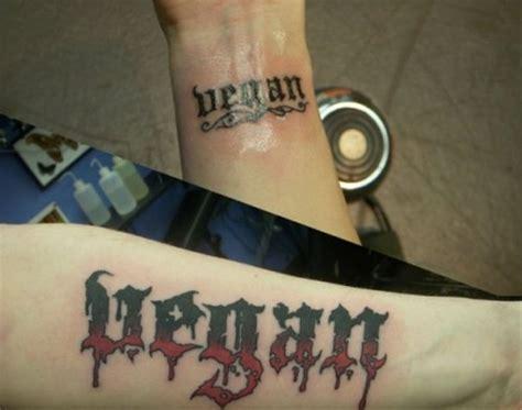 vegan tattoo on wrist 25 elegant vegan tattoos on wrists