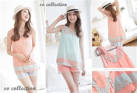 Blouse Twiscone 95 Baju Wanita Zhieafiqa Shop