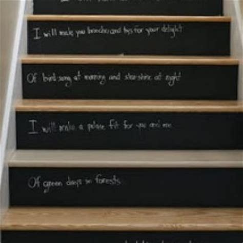 chalk paint steps painted river painted stairs
