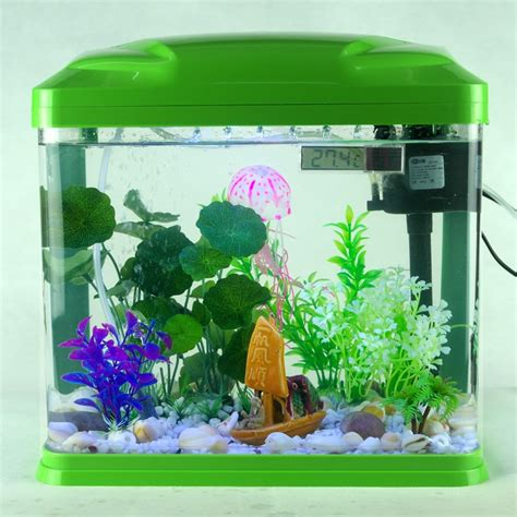 mini ultra white glass fish tank aquarium ecology  large