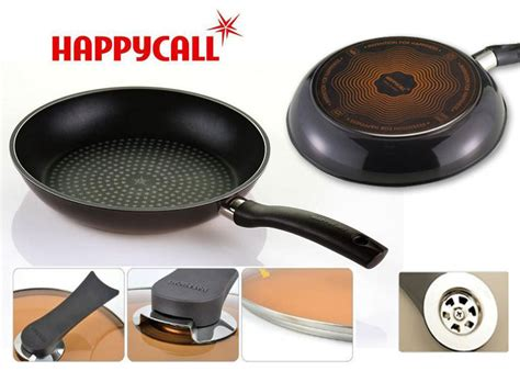 Teflon Happy Call happy call pan wok frying pan teflon masak murah