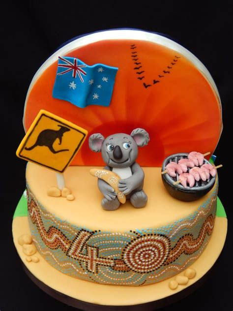 australian themed party uk 14 best images about outback themed cakes on pinterest