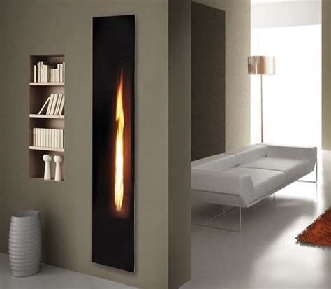 Wall Insert Gas Fireplace by Linear Fireplace The Vertical Way Places Of