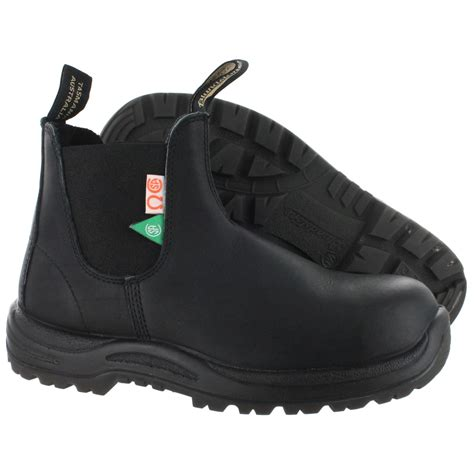 blundstone boots retailers 163 csa steel toe safety boot greenpatch in black