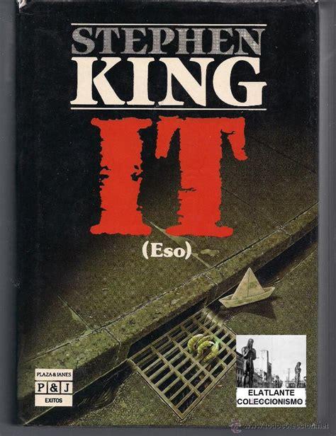 libro they do it with it eso stephen king 1987 primera edici 243 n a comprar libros de terror misterio y polic 237 aco