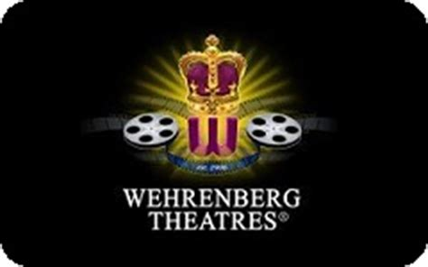 Wehrenberg Gift Card - buy wehrenberg theatres gift cards giftcardplace