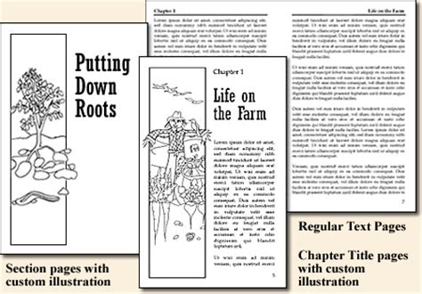 novel page layout typesetting and page layout for historical fiction