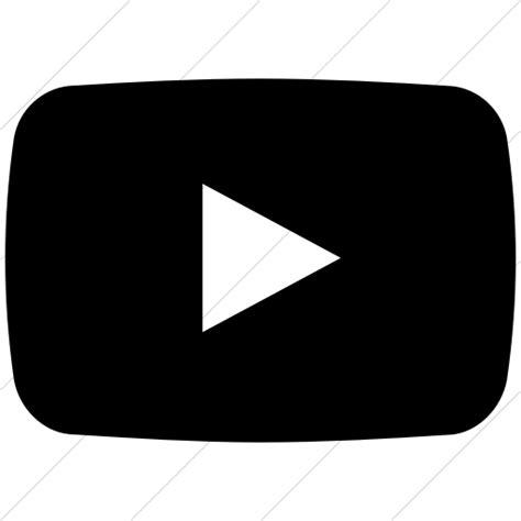 black youtube youtube icon black www imgkid com the image kid has it