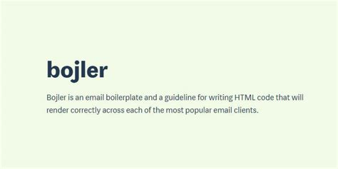 email template boilerplate bojler email boilerplate bypeople