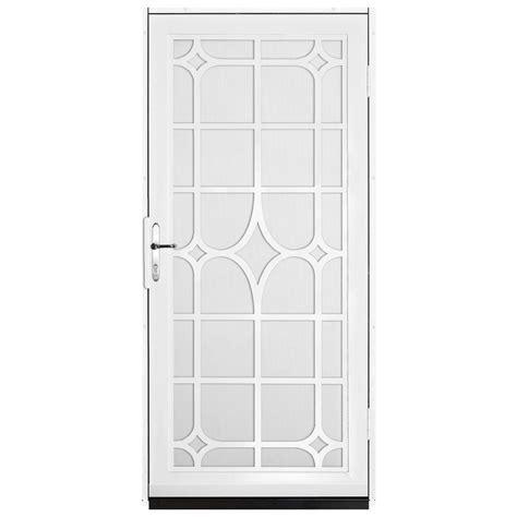 unique home designs 36 in x 80 in white