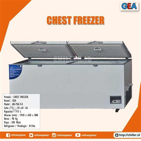 Chest Freezer Ab 600 T C 26c jual ab 750 t x chest freezer gea harga murah di tangerang