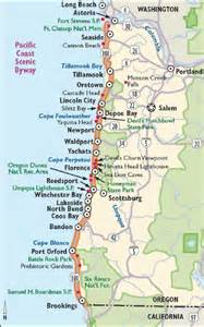 map of hwy 101 oregon oregon scenic drives pacific coast scenic byway