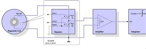 integrator circuit for rogowski coil compensating rogowski coils for current measurement ee times