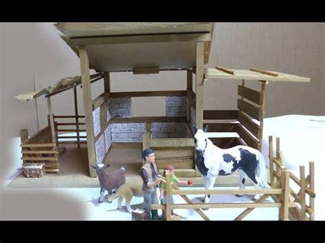 selbstgebauter schleich stall pferdestall selber bauen f 252 r schleich pferde
