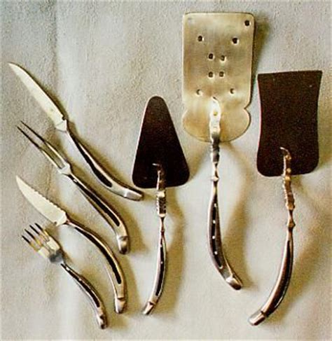 unique cutlery unique cutlery made of horseshoes interesting or