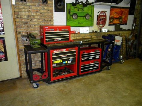 Best Garage Welder by Home Made Rolling Tool Storage Tool Box