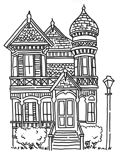 house drawing halloween art lesson draw a haunted house creativity connection
