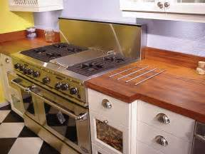 Wood Kitchen Countertops by Natural Wooden Kitchen Countertops For A Trendy Look