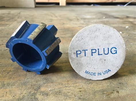Post Tension Plugs  Concrete Construction Magazine   Post