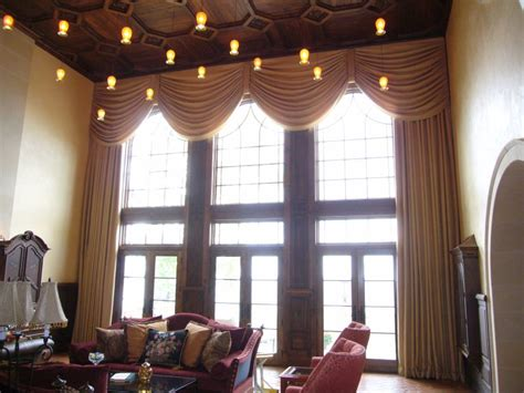 Two Story Curtains Two Story Great Roomjpg Picture To Pin On Pinsdaddy