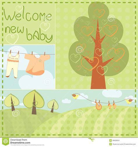 revalidaci 243 n de tarjetas plantilla de presentacion de bebe tarjeta de felicitaci