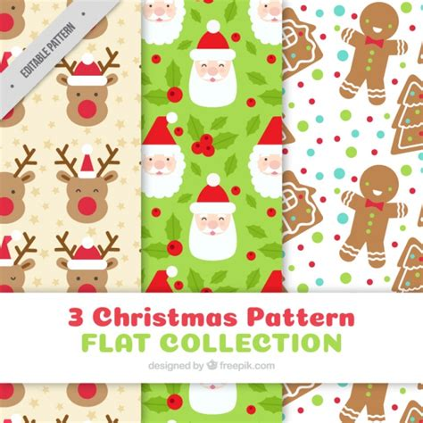christmas patterns year 1 enjoyable christmas patterns vector free download