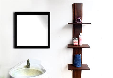 bathroom shelving units 4 ways to create a bathroom shelving unit wikihow