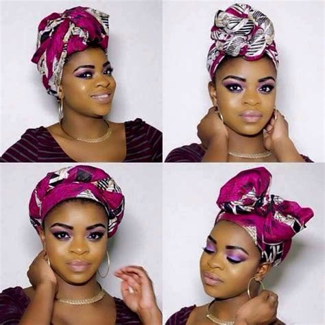 turban tutorial natural hair 1851 best foulards turban wrap images on pinterest