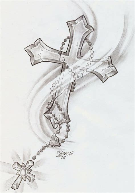 cross and rosary tattoo 25 best ideas about cross designs on
