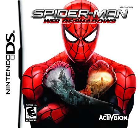 spider man web of shadows nds rom (usa) download for