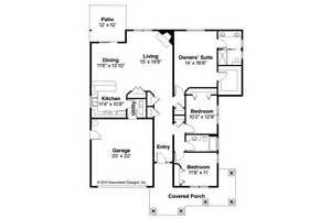 House Floor Plans Online Craftsman House Plans Carlton 30 896 Associated Designs
