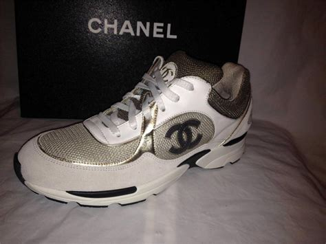 chanel shoes sport chanel 12a sport lace up leather suede tennis sneakers