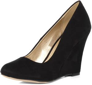 Barbies Shoes Come To With Offices Cant Courts by Black Wedge Court Shoes 7 Shoes 100
