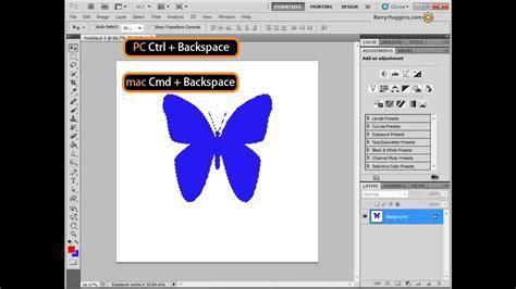 color fill quot photoshop tips quot photoshop colour fill