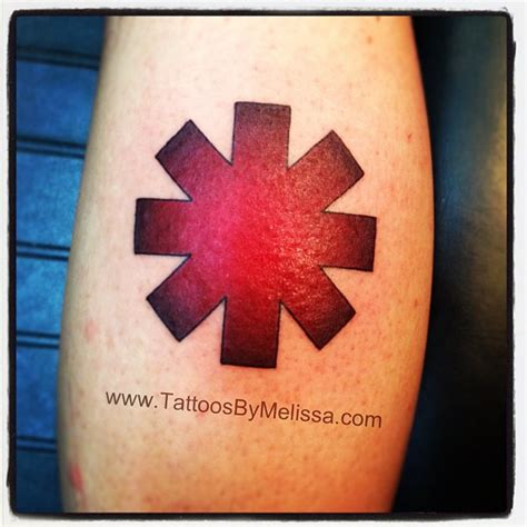 rhcp logo tattoo on my wrist red hot chili peppers logo by melissa capo on deviantart