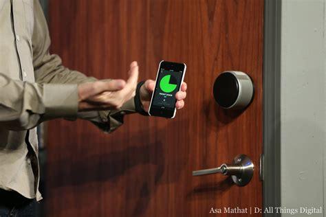 front door lock iphone