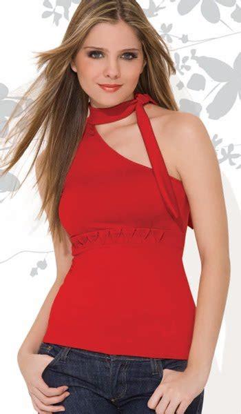 imagenes de blusas rojas moda blusas 187 blusas rojas de moda 1