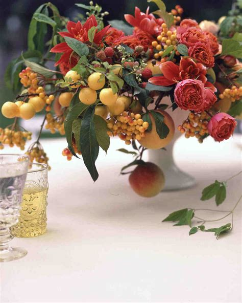 fruit table for wedding reception 26 wedding centerpieces bursting with fruits and
