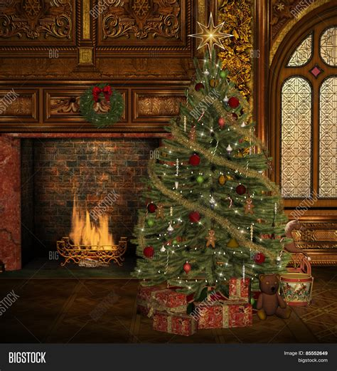 enchanted christmas tree image photo bigstock