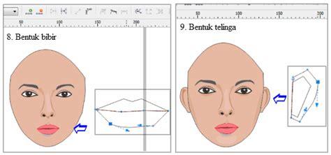 tutorial menggambar kartun di corel draw cara menggambar wajah kartun dengan corel draw