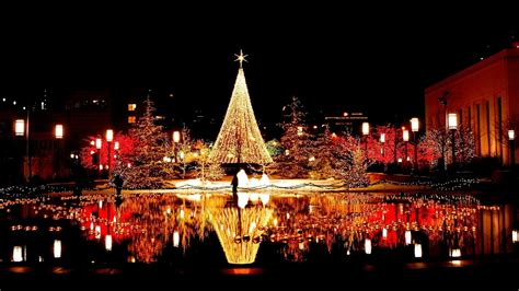 world best christmas city in city hd wallpapers