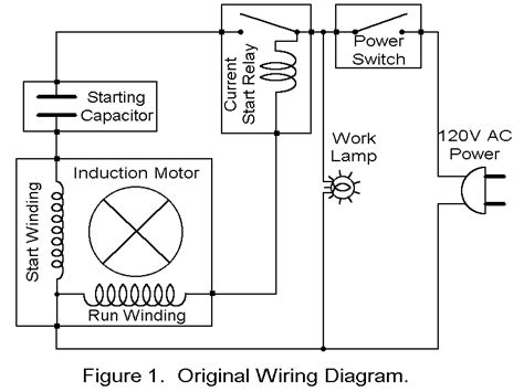 capacitor start induction run motor operation wiring diagram for reversing single phase motor efcaviation